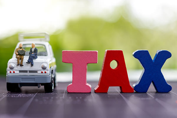 廃車で戻るお金「自動車税」について
