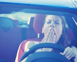 運転中の眠気
